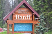 L'Ingresso della cittadina di Banff
